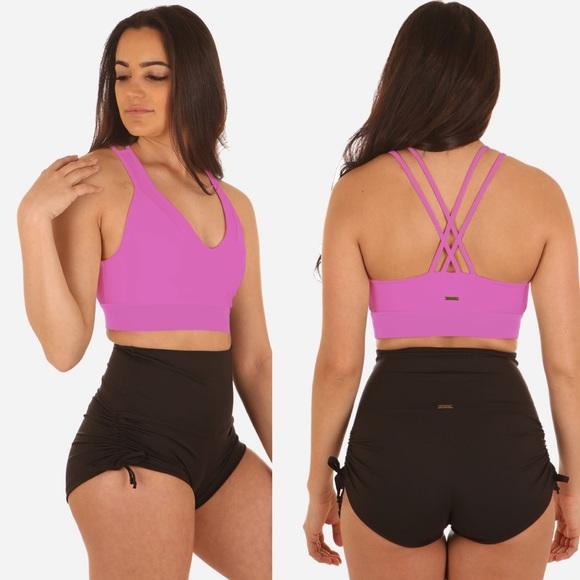 Mika Yoga Wear Tops - MIKA YOGA WEAR Christina Top